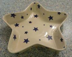 Emma Bridgewater Starry Skies Star Shaped Baker 2004