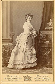 1870s Bustle