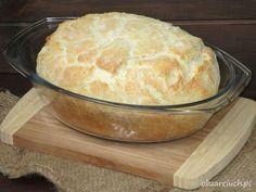 Chleb z garnka Fresh Fruit Cake, Cornbread, Muffins, Vegan Recipes, Food And Drink, Pudding, Cheese, Ethnic Recipes, Desserts