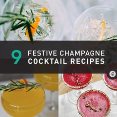 Instead of traditional mimosas, get crafty this year with the likes of black pepper, sage, elderflower, and winter fruits like pears.
