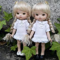 """좋아요 5개, 댓글 1개 - Instagram의 mini(@petite_jiwoo)님: """"Tanned skin #petitejiwoo #doll #resindoll #dollstagram #toy #arttoy #tiny #handmade #dollpainting…"""""""