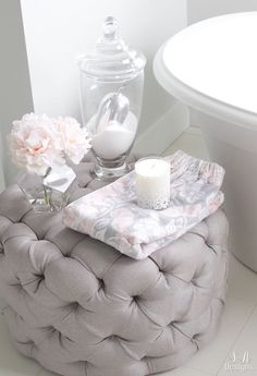 Home Decoration Ideas For Wedding Tranquil Glam Master Bathroom Tour Decoration Ideas For Wedding Tranquil Glam Master Bathroom Tour Relax, Chic Bathrooms, Country Bathrooms, Small Bathrooms, Amazing Bathrooms, Bathroom Interior, Bathroom Ideas, Bathroom Inspo, Bathroom Designs