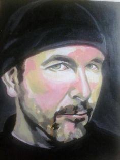 The Edge ,painting from a fan