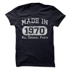 Made in 1970 T-Shirts, Hoodies. Check Price Now ==► https://www.sunfrog.com/Funny/Made-in-1970-tsar.html?id=41382