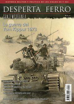 """Portada de """"La Guerra del Yom Kippur, 1973"""", n.º 3 de Desperta Ferro Contemporánea. © Zvonimir Grbasic"""