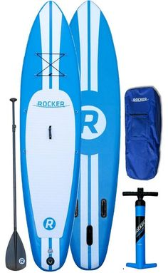 "LABOR DAY SALE iRocker Paddle Board® 10' (6"" Thick) Inflatable SUP Package 