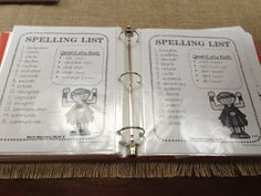I like this idea! Spelling Word Activities, Spelling Lists, Spelling Words, Fourth Grade, Third Grade, Reading Comprehension Strategies, Word Study, School Days, Literacy