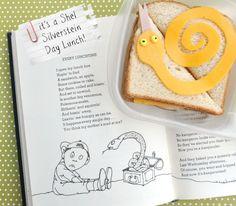 Shel Silverstein bento lunch & blog hop!