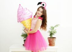 Kids Costume Flamingo Costume Girls Dress Up Kids Halloween Flamingo Costume, Girls Dress Up, Girl Costumes, Halloween Kids, Diy For Kids, Halloween Decorations, Tulle, Trending Outfits, Unique Jewelry