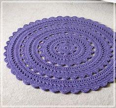 Materiales gráficos Gaby: Varios modelos de alfombras en ganchillo