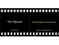 Namecard Design by Yen Nguyen, via Behance