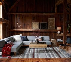 great mix of contemporary in a rustic environment