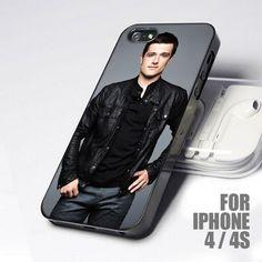 Handsome Josh Hutcherson design for iPhone 4 or 4s case