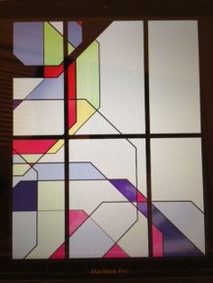 The Fig House Stained Glass Design