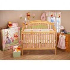 nursery idea if a girl love this winnie the pooh set