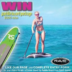RAVE Sports - Win a Lake Cruiser Stand-Up Paddle Board - http://sweepstakesden.com/rave-sports-win-a-lake-cruiser-stand-up-paddle-board/