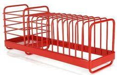 Red Dishrack In Gift Box: Remodelista