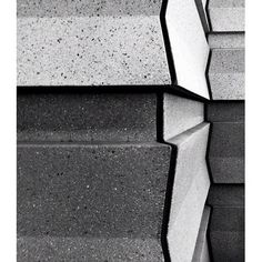 Found Abstraction: concrete siding Constellation Bld Century City CA #centurycity #losangeles #california #foundabstraction #blackandwhite #exterior #building #detail #architecture  (at Constellation Blvd Century City)