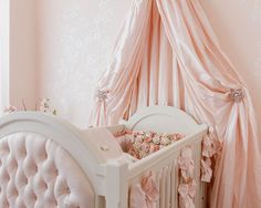 baby pink crib canopy Bed Crown and Crib Canopy Inspirations