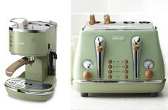 Elettrodomestici in stile vintage