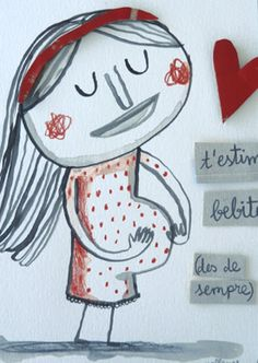 Anna Llenas Cute Doodles, Conte, Art Therapy, Action Figures, Leo, Baby Kids, Anna, Snoopy, Collage