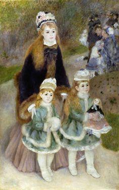 Renoir La Promenade, 1875-1876.