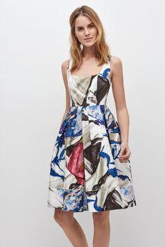 Vestido lady con estampado floral