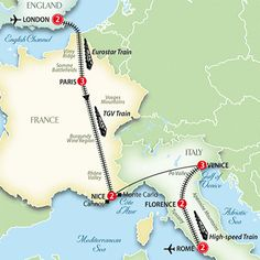 Europe Tour by Rail