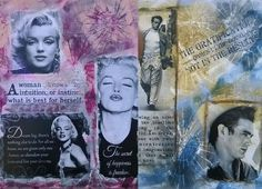 Tutorial - Mixed Media - Mix media - Pentart Media Mist Paints