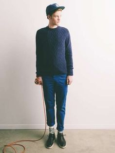 The Ecole Militaire Fall/Winter 2012/2013 Lookbook is Hipster-Chic #mensfashion #fashiontrends