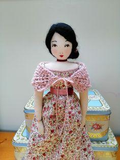 Ann Wood, Little Darlings, Fabric Dolls, Doll Patterns, Attic, Art Dolls, Vintage Inspired, Snow White, Disney Princess