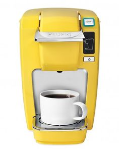Mini Plus Brewing System - Mini Plus Brewing System  For the dorm-room dweller who's short on space (and time), this machine has a tiny footprint and brews a great cup in a minute.     $100, Keurig