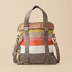 FOSSIL® Handbag...love how unique this one is.