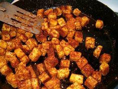 Kentucky Fried Tofu (Greg was just lamenting the lack of KFC in his life since we met. May have to make this soon!)