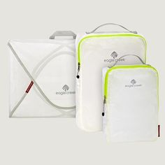 A lightweight update to the original travel cubes, Eagle Creek\'s Pac-It Specter Starter Set compresses all the con,Price - $58.95-4lsirFqb