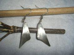 Ohrhänger - federleichte Ohrringe aus Silber - ein Designerstück von schmuckspektakel bei DaWanda