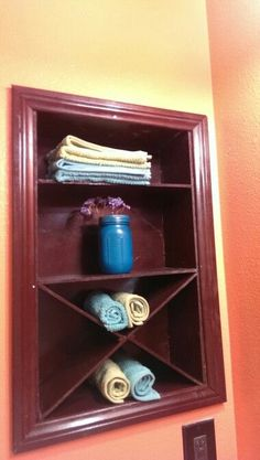 Rip Out An Old Medicine Cabinet And Replace It With A Shelf. | The Cream To  My Coffee | Pinterest | Medicine Cabinets, Medicine And Shelves