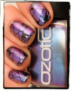 Love this combo... might just be my next mani.