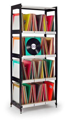 Étagères à vinyles