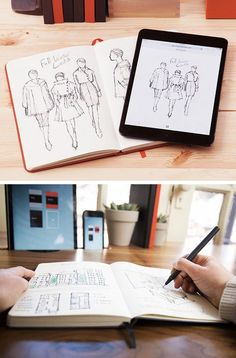 Capture your handwritten notes in the cloud with a Mod Notebook.