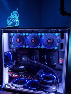 bobbyw87's Completed Build - Core i5-4690K 3.5GHz Quad-Core, GeForce GTX 1070 8GB, 303 White ATX Mid Tower - PCPartPicker Deutschland