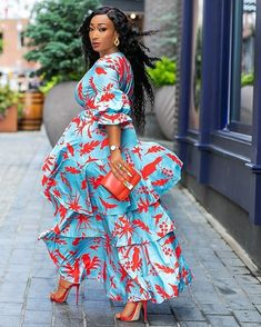 African Fashion Ankara, Latest African Fashion Dresses, African Dresses For Women, African Print Dresses, African Attire, Best Maxi Dresses, Sexy Dresses, Stylish Outfits, Fashion Outfits