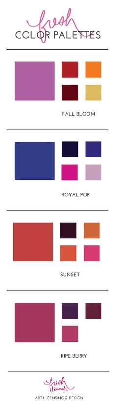 Fall 2014 Color Palettes