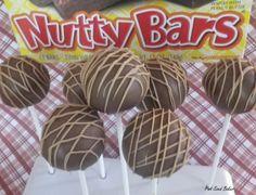 Nutty Bar Cake Pops