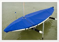 How to Make A Sunfish Sailboat Cover Using Sunbrella Marine Fabric. Watch the video on http://www.sailrite.com/http://www.sailrite.com/Make-Your-Own-Sunfish-Lateen-Rig-Sailboat-Cover  #Sailrite