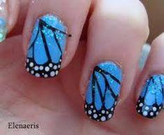 Butterfly nails #nailflash