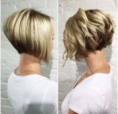 10 Trendy Gestapelt Frisuren für Kurze Haare: Praktikabilität Kurze Haare Schneidet // #Frisuren #für #Gestapelt #Haare #kurze #Praktikabilität #Schneidet #Trendy