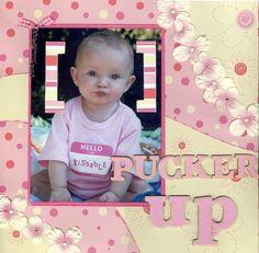 Pucker Up, layout by LoveMyBella