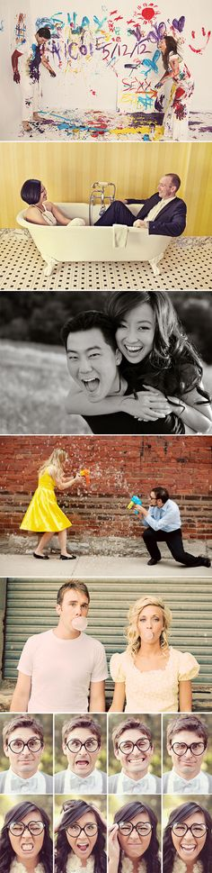 Praise Wedding » Wedding Inspiration and Planning » 23 Fun Engagement Photos