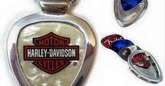 Harley Davidson Guitar Pick  Pickbay GUITAR PICK HOLDER NECKLACE Groomsmen Gift  | eBay #music